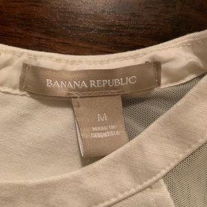 Banana Republic Tops - Banana Republic woman's Size M crop top